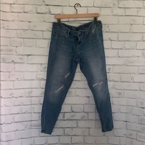 Mossimo Distressed Denim